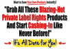 offer premium digital products to boost your income with resale rights