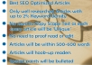 write up to 600 words seo friendly article