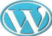 I will install the latest WordPress + essential plugins and a theme