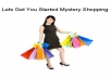I will send you a list of over 180 Mystery Shopping companies plus tips on how to get started