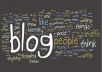 create and get you a professional blog published