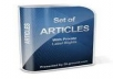 give you 100,000+ PLR Articles with license for