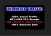campaign your website products or blog to 10,000 visitors human traffic