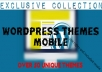 give you a collection of mobile themes Wordpress