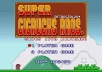 put your message on Super Mario Bros 8 bit video game scene
