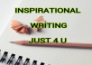 write an inspiring story or article (500 words)