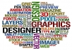 design an awesome tag cloud design for you