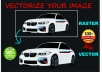 Vectorize your image or logo within 1 day