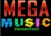 promote and tantalize one song to 3000 Music Bloggers