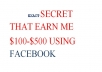 give Exact secrets I use to make $100 to $500 daily as part-time social media manager