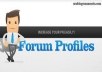help you to create High PR forum signature