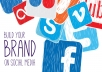 Brand your social media account