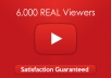 Provide You 6000 YouTube Views HR