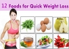 give you food recipe for rapid weight loss