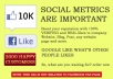 add 1500 REAL facebook likes for Website