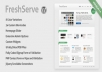 WordPress Theme FreshServe - A Web App