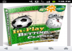 a nice ebook cover on football betting