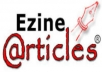 a submitted 3 article to ezine with my given keywords