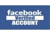 5 FB phone verified accounts