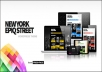 New York Epiq Street - Creative WordPress Theme