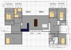 House Exterior Design ideas that work with my Floor Plan (Can be hand Sketches or using CAD)