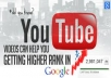 rank 2 youtube videos 1st page