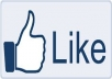 facebook LIKES for my Blog Post