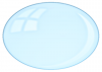 a PNG of a bubble, partially transparent