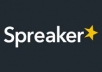Followers and or plays (split) on Spreaker