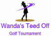 a golf tournament logo and banner  redone.