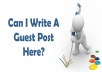 Write and Publish Guest Posts on Australian Websites