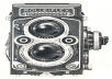 scalable, iconic drawings of vintage cameras