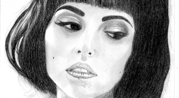 i will draw you realistic face portrait by graphite pencil