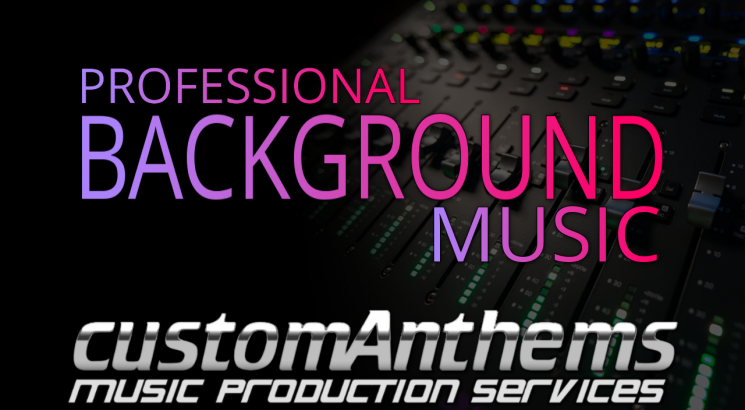 i will produce professional copyright free background music in any style