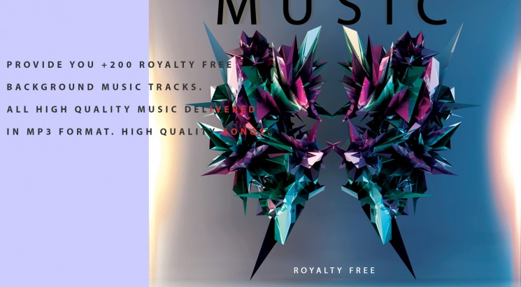 I will Provide you 200 Royalty Free Background Music tracks  All