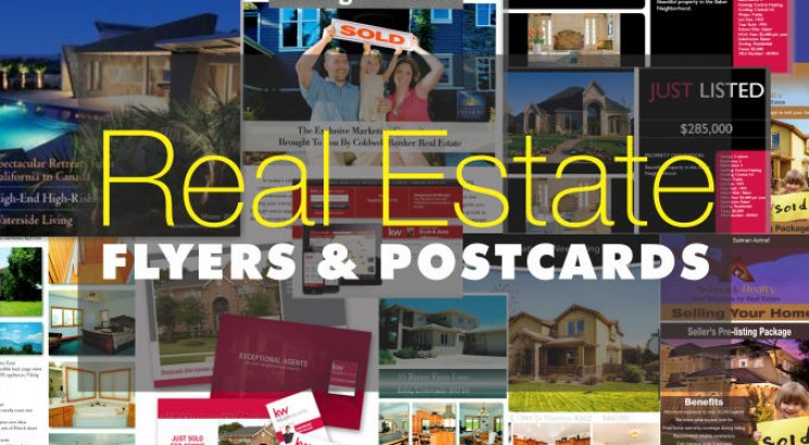 i will design a selling real estate flyer