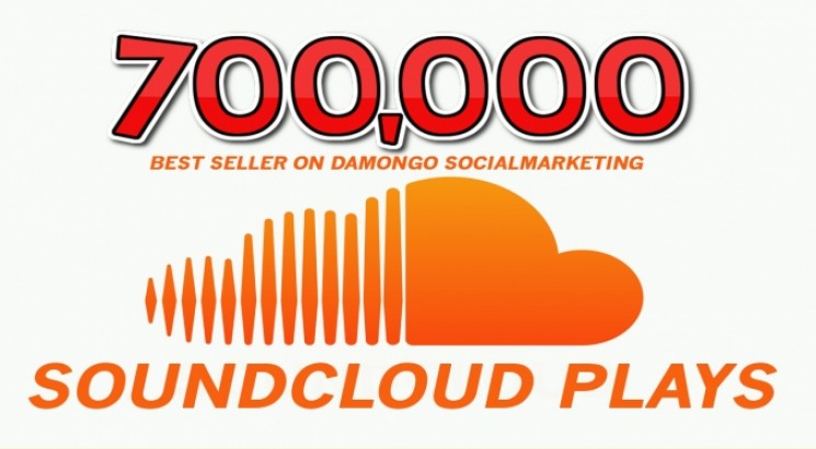 I will give 700,000 BEST QUALITY NON DROP SOUNDCLOUD PLAYS