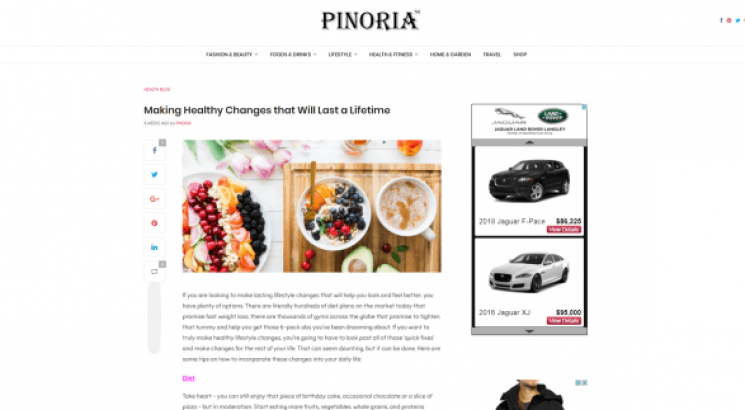 I will place your guest post on my premium lifestyle blog Pinoria com