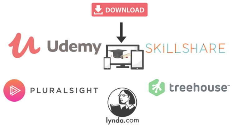 I will download any course from online education platform ( udemy