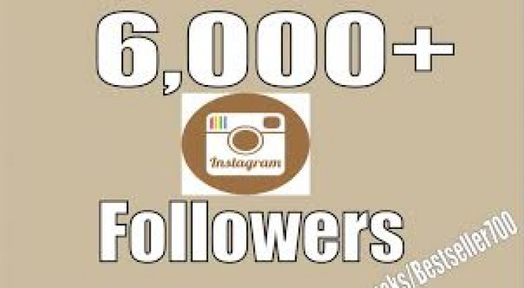 I will Provide 6,000 Instagram real followers