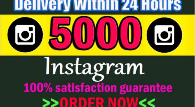 I will Giving 5000+ Instagram permanent Followers