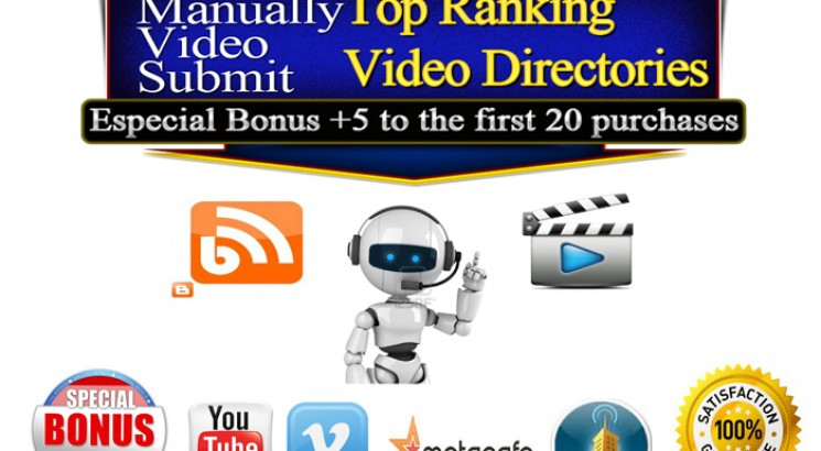 I will upload your video to 10 high PR video sites Upload