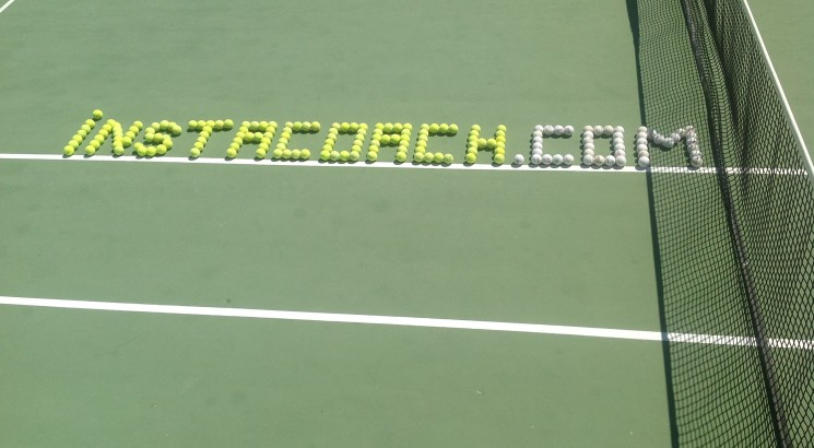 I Will Write Your Name With Tennis Balls