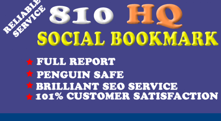 I will Add Your Site to 800 SEO Social Bookmarks High