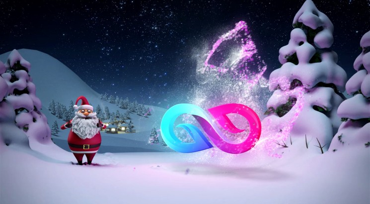 I will design santa claus wishing merry christmas greetings video about this gig m4hsunfo Images